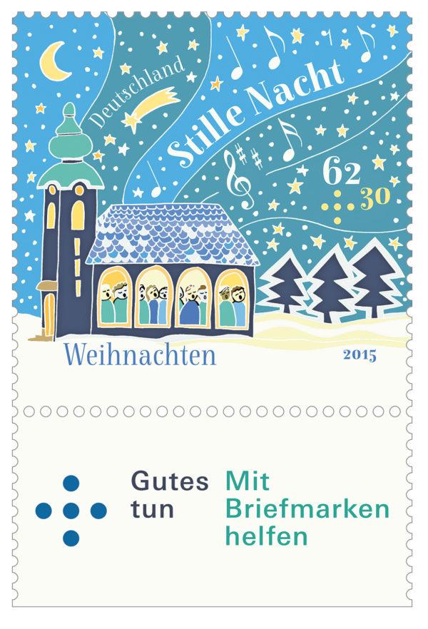 Weihnachtsbriefmarken 2015 – Porto 2.0
