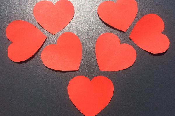 Gespaltene Herzen
