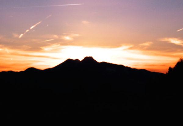 """Brünnstein, der """"brennende Berg"""""""