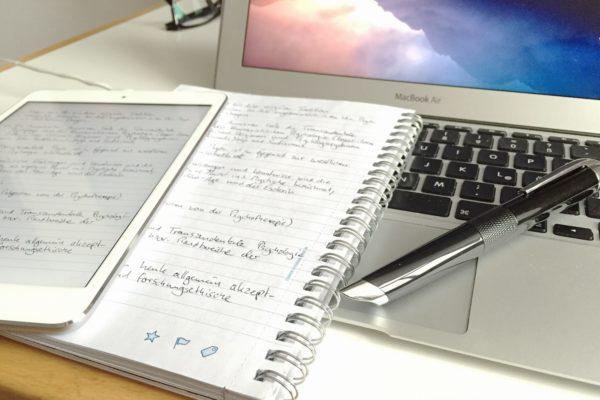 Schreibst Du noch oder tippst du schon – Eure Antworten