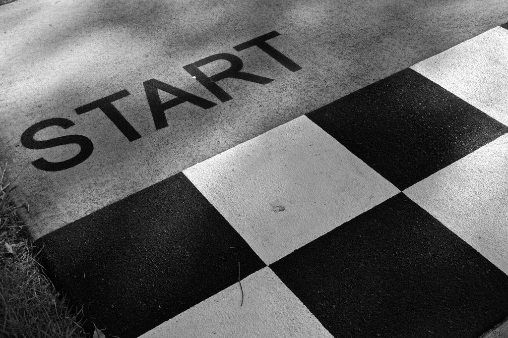 Start, Bereit