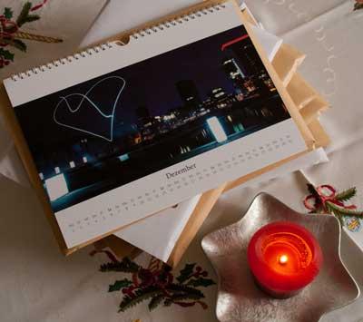 Unser Kalender als Weihnachtsgeschenk