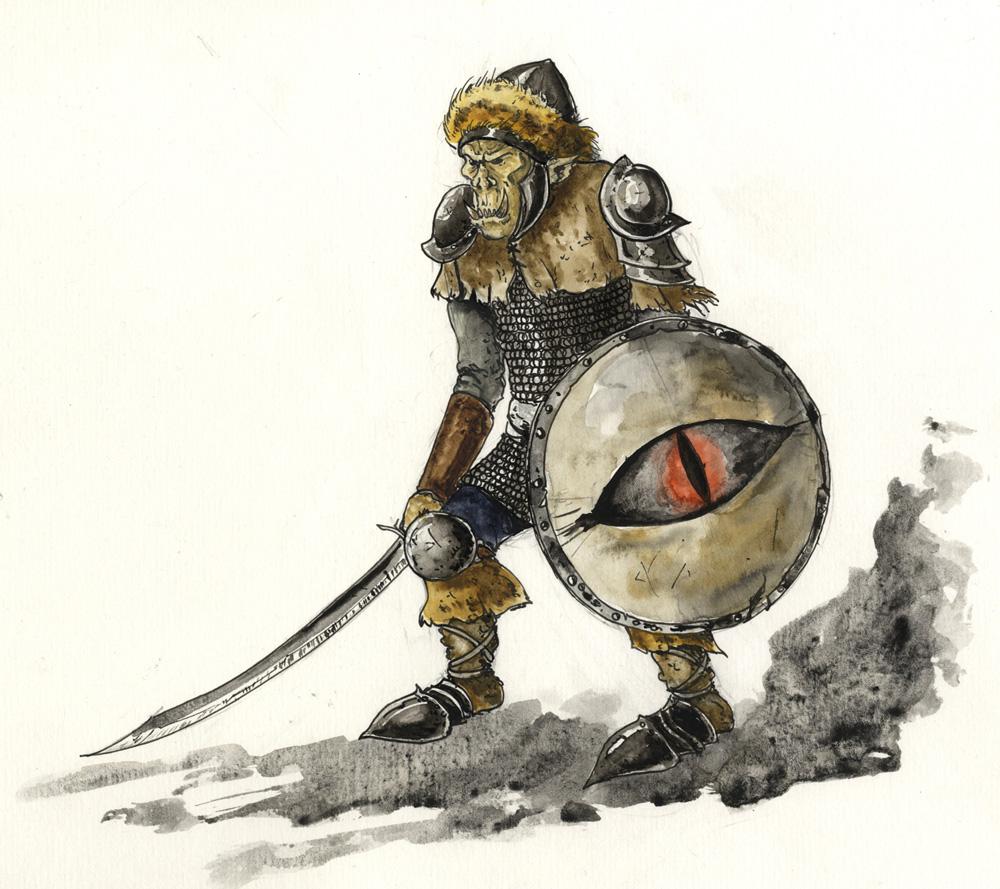Das Böse – hässlich dargestellt. Bild: Antoine Glédel, Wikipedia Commons