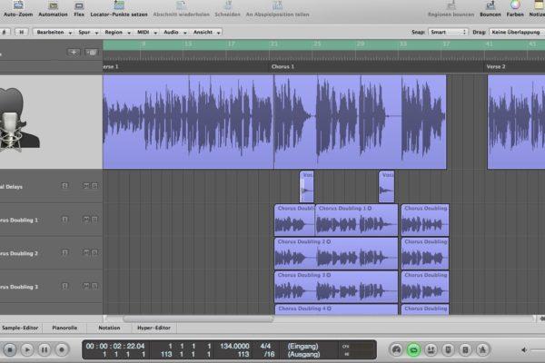 Jede Stimme zählt bei Audioaufnahmen