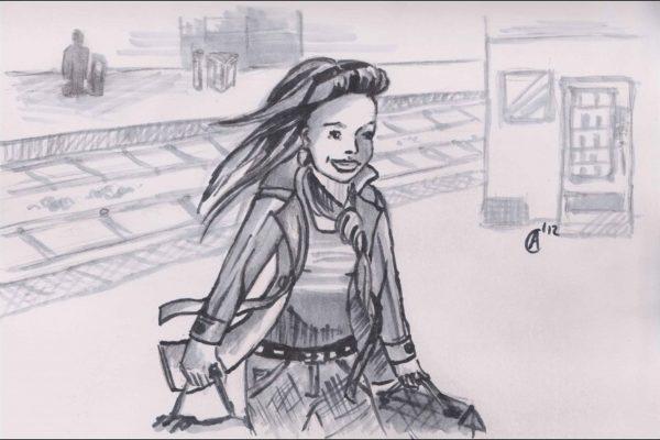 Bahnhofsfreude