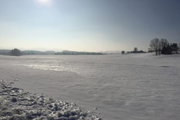 Ein letztes Mal Winter am Irschenberg