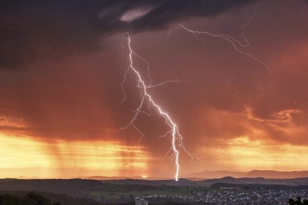 Wind, Regen und der Weltuntergang in Landshut