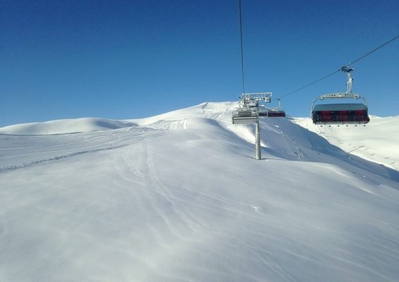 Traumlandschaft im Schnee