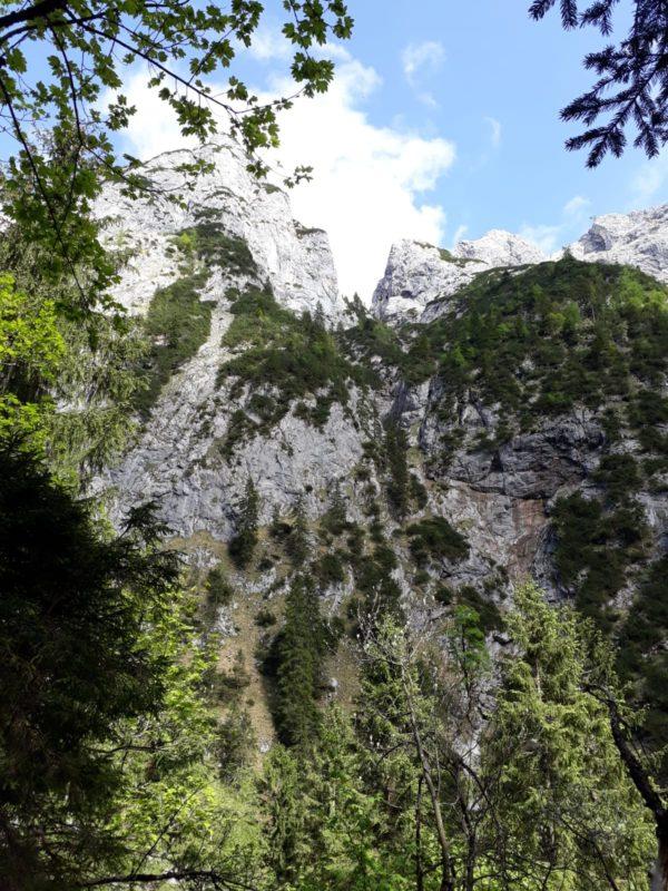 """…im Klettersteig """"steinerne Jäger"""""""